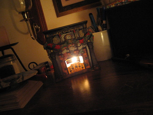 Nov. 16 - Our Fireplace